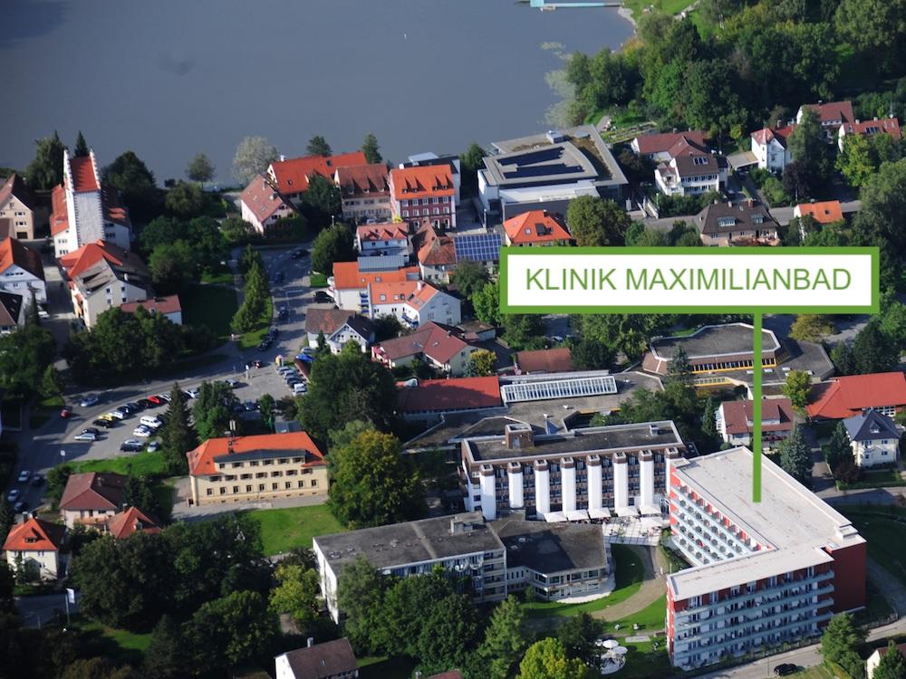 Luftaufnahme Klinik Maximilianbad