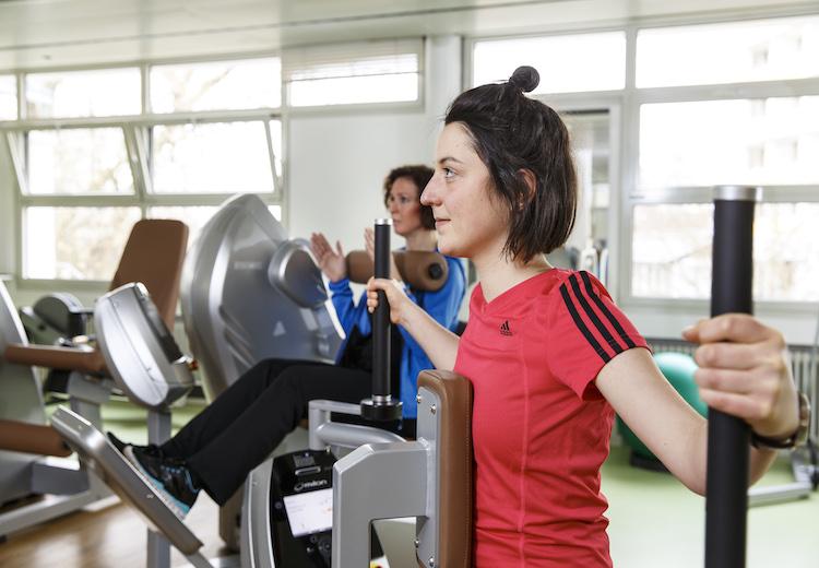 Medizinische Trainingstherapie Fitness MTT