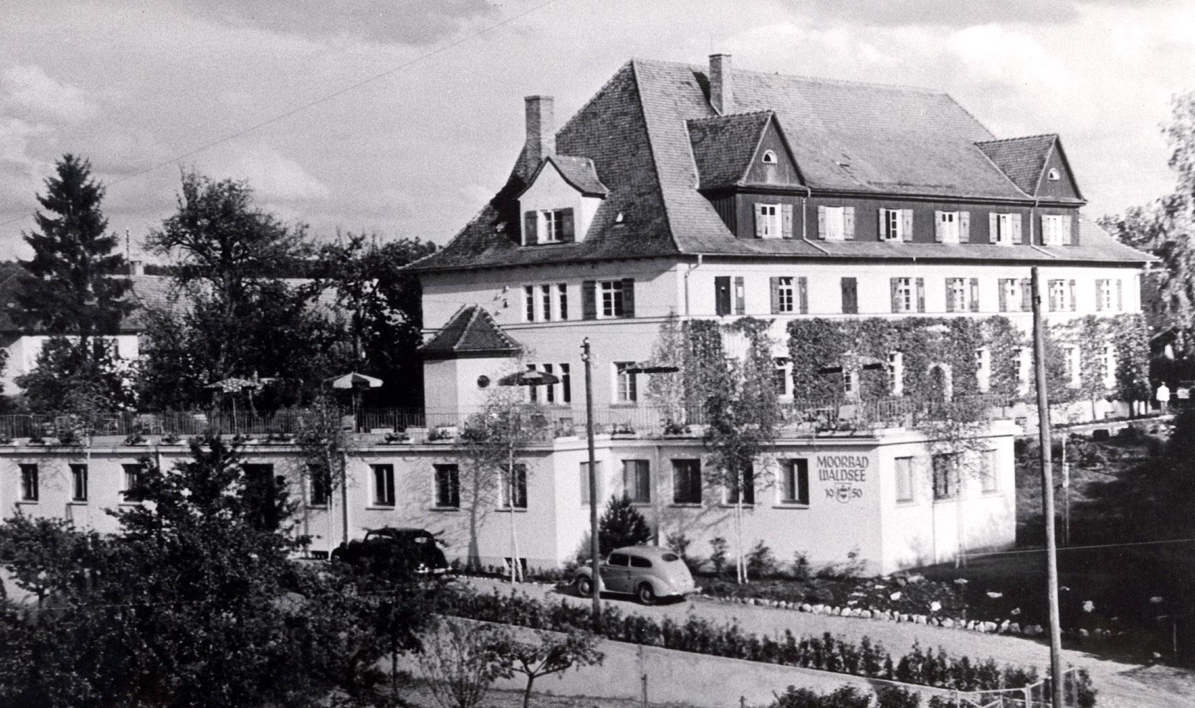 Altes Moorbad in Bad Waldsee - historische Aufnahme